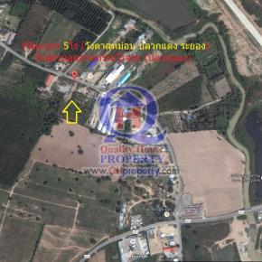 ที่ดิน 5ไร่ (วังตาลหม่อน ปลวกแดง ระยอง) ใกล้สวนอุตสาหกรรมโรจนะ (ปลวกแดง)