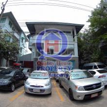 โฮมออฟฟิศ3ชั้น โครงการ AEC Office Park ซ.สหการประมูล 107ตร.วา จอดรถได้ 14คัน