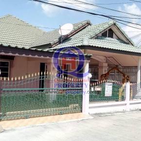 บ้านเดี่ยว 48.2ตารางวา ม.ประดิษฐ์ไพศาล(หนองพังพวย เครือสหพัฒน์ ศรีราชา) บ้านสวย น่าอยู่มาก ราคาไม่แพง