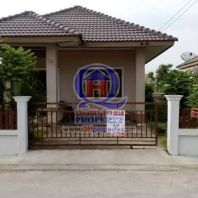 บ้านเดี่ยวชั้นเดียว 52 ตร.วา ม.เพิ่มทรัพย์ (บึง ศรีราชา ชลบุรี) บ้านสวย น่าอยู่มาก ราคาไม่แพง